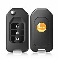 XHORSE XNHO00EN Wireless Universal Remote Key Fob 3 Buttons for Honda English Version Work with VVDI Mini Key Tool 5pcs/lot