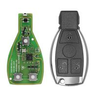 Xhorse VVDI BE Key Pro Improved Version with Smart Key Shell 3 Button for Mercedes Benz Complete Key Package