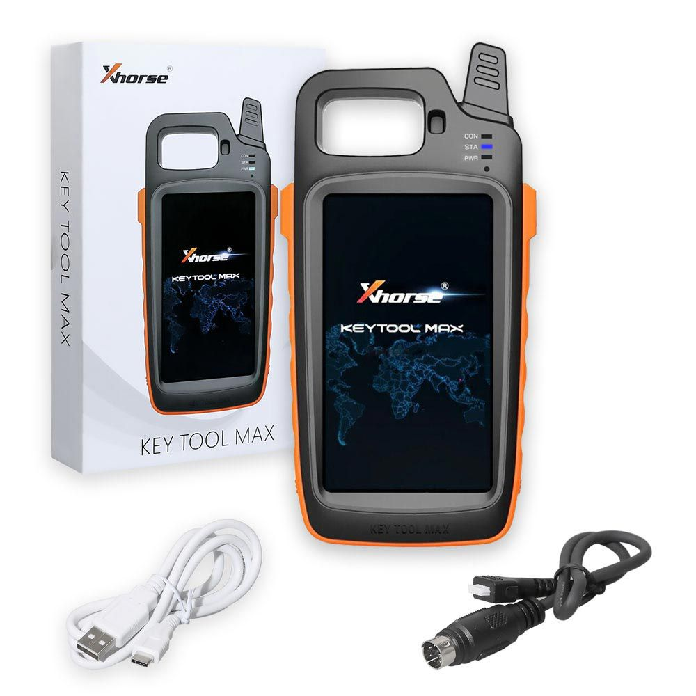 Xhorse VVDI Key Tool Max + MINI OBD Tool + Toyota 8A All Keys Lost Adapter Get Free Renew Cable