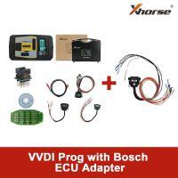 Original Xhorse VVDI Prog Programmer with Bosch ECU Adapter Read BMW ECU N20 N55 B38 ISN without Opening