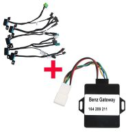 Xhorse W164 Gateway Adapter Plus EIS/ELV Test Line for Mercedes (without having to get on the Car)