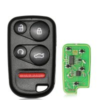 XHORSE XKHO03EN Universal Remote Key Fob for VVDI Key Tool With Remote Start & Trunk Button 5pcs/lot