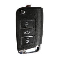 XHORSE XKMQB1EN for VW Remote Key MQB Style 3 Buttons for VVDI Key Tool 10pcs/lot