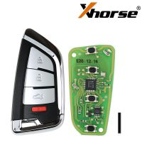 Xhorse XSKF20EN Smart Remote Key Knife Style 4 Buttons English Version 5pcs/lot