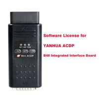 Software License for YANHUA ACDP B48 Integrated Interface Board