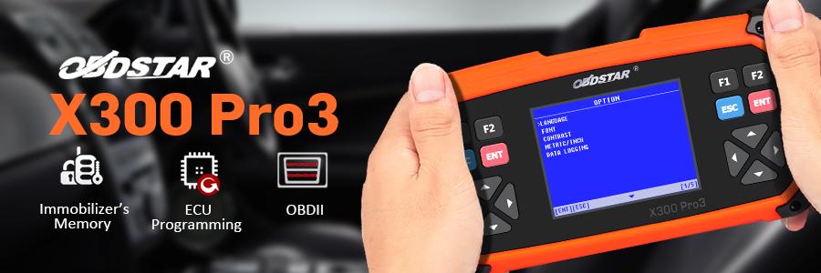 OBDSTAR X300 PRO3
