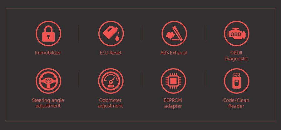 XTOOL X100 Pro2 Auto Key Programmer